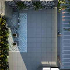 Vijver door Treez Arquitetura+Engenharia