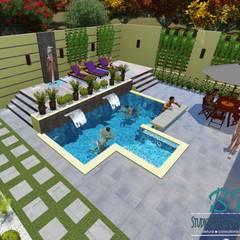 Studio Barreto Fernandesが手掛けた家庭用プール