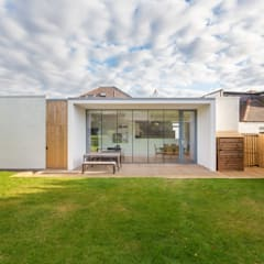 Contemporary House Extension, 22 Featherhall Crescent North, Edinburgh:  Detached home by Capital A Architecture