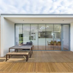 Contemporary House Extension, 22 Featherhall Crescent North, Edinburgh:  Detached home by Capital A Architecture , Modern