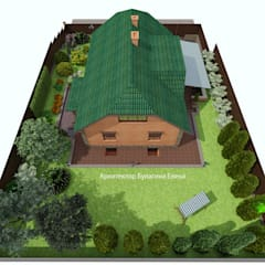 منزل ريفي تنفيذ Архитектурное Бюро 'Капитель'