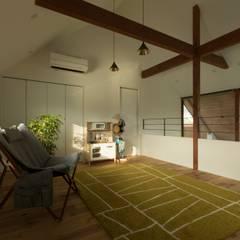 Konan House: ALTS DESIGN OFFICEが手掛けた子供部屋です。