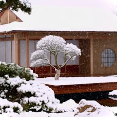 Bodegas de jardín de estilo  por Jürgen Kirchner Wasser + Garten