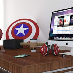 CONCEPT MARVEL STUDIO:  Study/office by ART JAIL