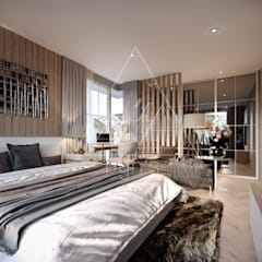 Bedroom by pyh's interior design studio