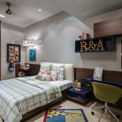 Nursery/kid's room by Rakeshh Jeswaani Interior Architects
