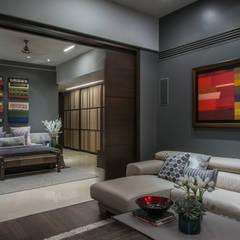 Apartment in Juhu:  Media room by Rakeshh Jeswaani Interior Architects