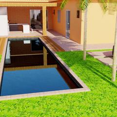 Casa - 70 m² : Casas familiares  por FT Engenharia e Arquitetura