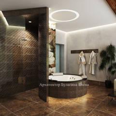 Spa de estilo  por Архитектурное Бюро 'Капитель'