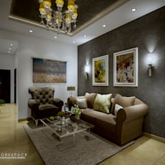 Space for us | Family room: mediterranean Living room by WORKSPACE architects & interior designers