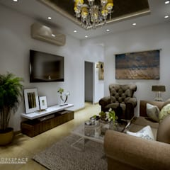 Space for us | Family room:  Living room by WORKSPACE architects & interior designers