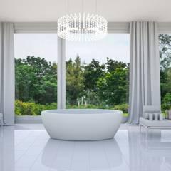 Bathroom in art deco style:  Bathroom by 'Design studio S-8'