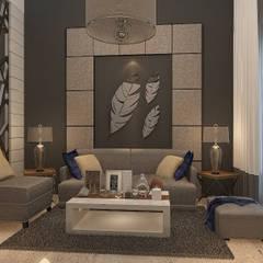 Project - Rumah Tinggal Kediri Family Residence:  Ruang Keluarga by Vinch Interior