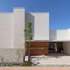 −+ & 0 PRO MODEL: FANFARE CO., LTDが手掛けた木造住宅です。