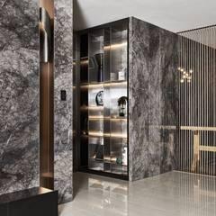璀璨.脈脈|Van der Vein:  酒窖 by 理絲室內設計有限公司 Ris Interior Design Co., Ltd.