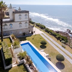 Luxuosa Villa S. Pedro Estoril / Lisboa - Luxury Villa S. Pedro Estoril / Lisbon: Piscinas  por Ivo Santos Multimédia