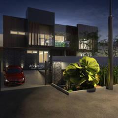 House at Taman Ratu:  Rumah tinggal  by ASGARIS studio