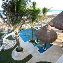 DHI Arquitectos y Constructores de la Riviera Maya:  tarz Sonsuzluk havuzu