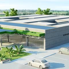 Hospitales de estilo  por VERRONI arquitetos associados
