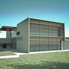 SEF - USP Campus 2 - São Carlos, SP FICHA TECNICA Escolas modernas por VERRONI arquitetos associados Moderno