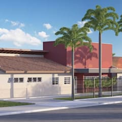 CAPS: Hospitais  por VERRONI arquitetos associados