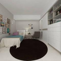 Casa GL: Stanza dei bambini in stile  di De Vivo Home Design