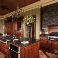 Casa Lasata: Cocinas equipadas de estilo  por DHI Arquitectos y Constructores de la Riviera Maya