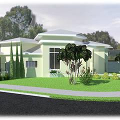 منازل تنفيذ Lidiane Santos Arquitetura