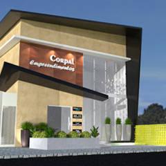 Comercial Corpal: Edifícios comerciais  por Lidiane Santos Arquitetura