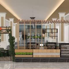 Altuncu İç Mimari Dekorasyon – Demlik Cafe (Erzurum mng awm):  tarz Alışveriş Merkezleri