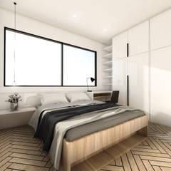 Mutiara Palace:  Kamar Tidur by KERA Design Studio
