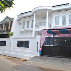 Rumah di Duren Sawit, jakarta:  Rumah by Anantawikrama Studio