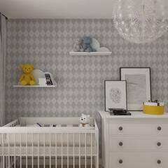 Wnętrze w stylu new york z nutką nowoczesności: styl , w kategorii Pokój dziecięcy zaprojektowany przez SO INTERIORS ARCHITEKTURA WNĘTRZ
