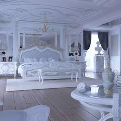 Magic Mimarlık – Angora villa: klasik tarz tarz Yatak Odası