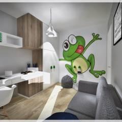 ห้องนอนเด็กชาย by Fusion- projektowanie i aranżacja wnetrz