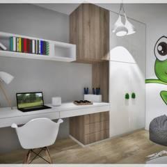 غرفة نوم أولاد تنفيذ Fusion- projektowanie i aranżacja wnetrz