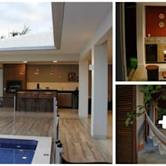 Piscinas de jardim  por press profile homify