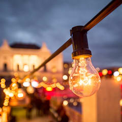 6'000 Glühbirnen:  Veranstaltungsorte von The Harrison Spirit