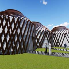 Exhibition centres by Sarissa Proje Tasarım