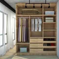 Dressing room by Abitarte - Arquitetura e Interiores