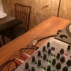 Fusão . Musica e Comida: Espaços de restauração  por Leonor da Costa Afonso