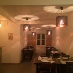 Sala Principal: Espaços de restauração  por Leonor da Costa Afonso
