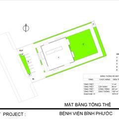 BINH PHUOC HOSPITAL:  Nhà cho nhiều gia đình by NPAGROUP CO.,LTD