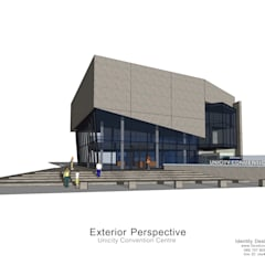 โครงการ อาคารสัมมนา Unicity CM:  ศูนย์การประชุม by Identity Design & Architecture Part.,Ltd