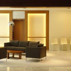 箱根のレジデンス: sorama me Inc.が手掛けた壁です。