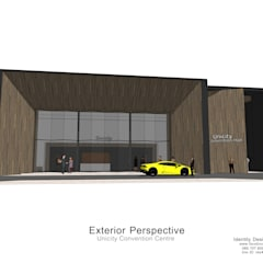 โครงการปรับปรุง อาคารสัมมนาเดิม:  ศูนย์การประชุม by Identity Design & Architecture Part.,Ltd