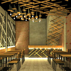 COMMERCIAL: Bar & Klub  oleh IMG ARCHITECTS, Rustic