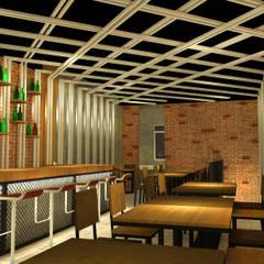 COMMERCIAL: Bar & Klub  oleh IMG ARCHITECTS, Rustic