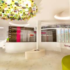 COMMERCIAL: Gedung perkantoran oleh IMG ARCHITECTS, Modern