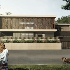 RESIDENTIAL:  Rumah by IMG ARCHITECTS